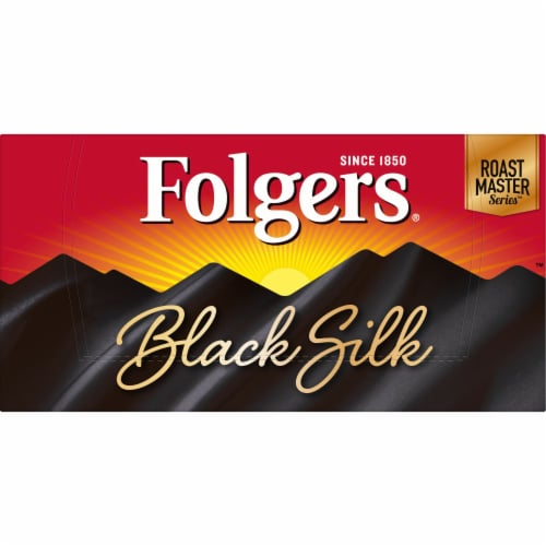 Folgers Ground Black Silk K-Cup Pods Perspective: top