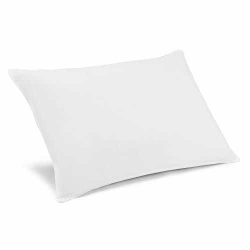 Beautyrest® Jumbo Fresh Tech Antimicrobial PolyesterSelf-Sanitizing Pillow Perspective: top