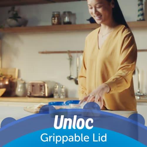 Ziploc® Twist 'n Loc Medium Round Storage Containers - 2 Pack Perspective: top