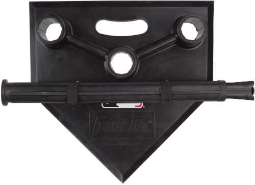 Franklin MLB 3-Position Batting Tee To Go - Black Perspective: top
