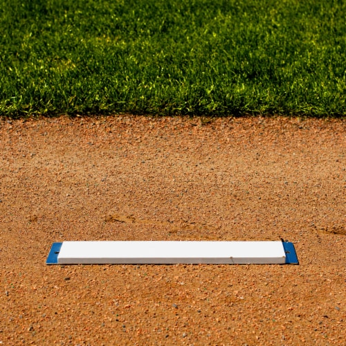 Franklin MLB Spike Down Pitcher's Rubber Perspective: top