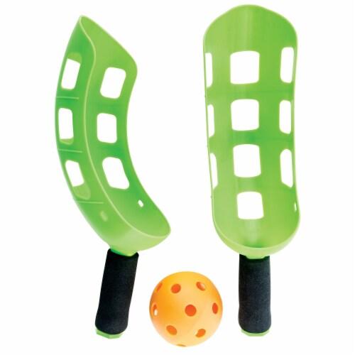 Franklin Flip Toss Game Set - Green Perspective: top