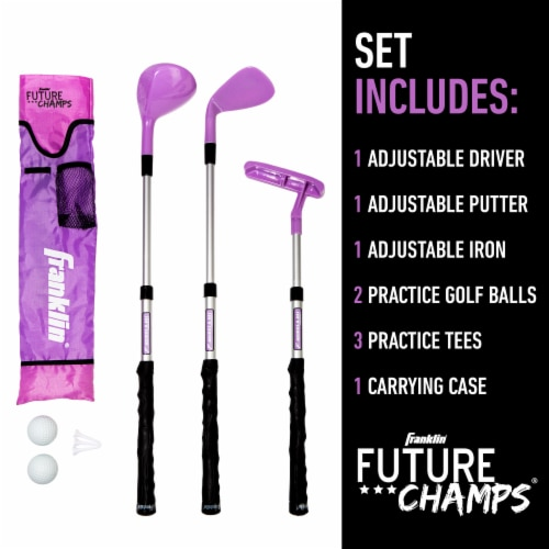 Franklin Future Champs Golf Set - Pink Perspective: top