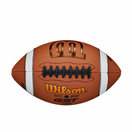Wilson GST Composite Official Football Perspective: top