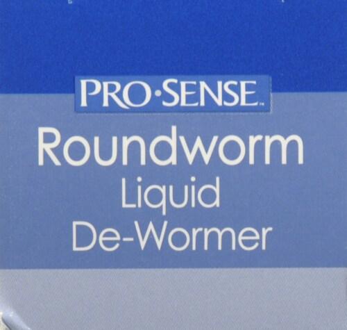 Pro-Sense Liquid Round Worm Dewormer Perspective: top