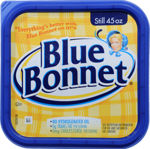 Blue Bonnet Vegetable Oil Spread Perspective: top