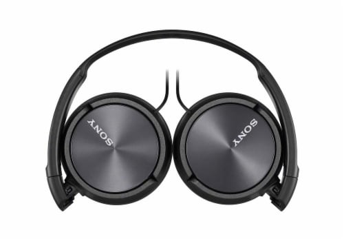 Sony ZX Series Headband Stereo Headset - Black Perspective: top