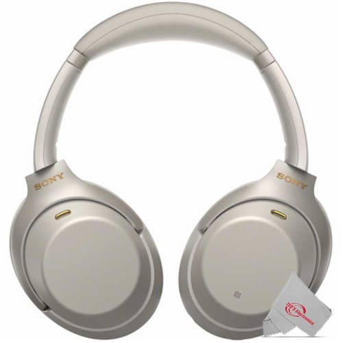 Sony Wh-1000xm3 Wireless Noise-canceling Headphones With Mic And Voice Control Perspective: top