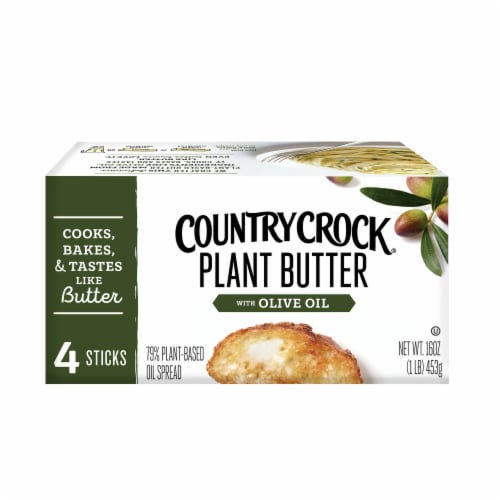 Country Crock Dairy Free Olive Oil Plant Butter Perspective: top