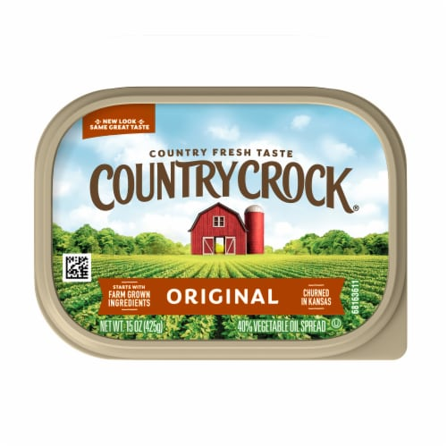 Country Crock Original Vegetable Oil Spread Perspective: top