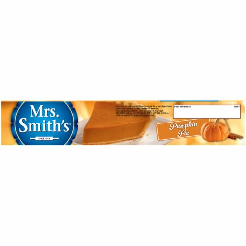 Mrs. Smith's Original Flaky Crust Pumpkin Pie Perspective: top