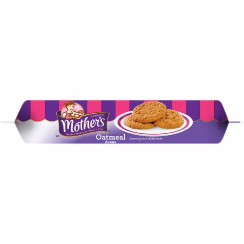 Mother's Oatmeal Cookies Perspective: top