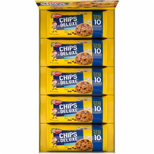 Keebler® Chips Deluxe® Original King Size Chocolate Chip Cookies Perspective: top