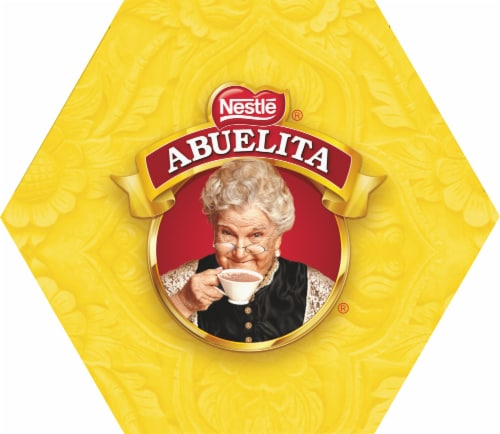 Nestle Abuelita Authentic Mexican Hot Chocolate Drink Tablets Perspective: top