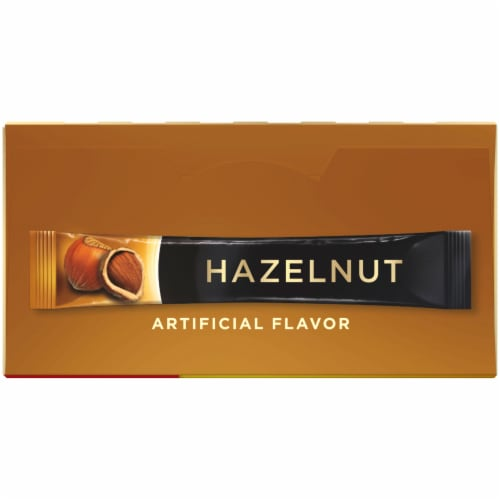 Nescafe Taster's Choice Hazelnut Instant Coffee Packets Perspective: top