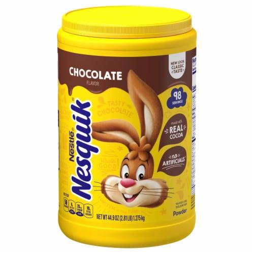 Nesquik Chocolate Powder Drink Mix Perspective: top