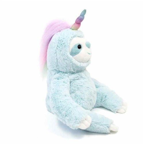 Dazzle Slothicorn 9 Inch Collectible Plush Perspective: top