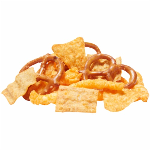 Munchies Cheese Fix Flavored Snacks & Chips Mix Perspective: top