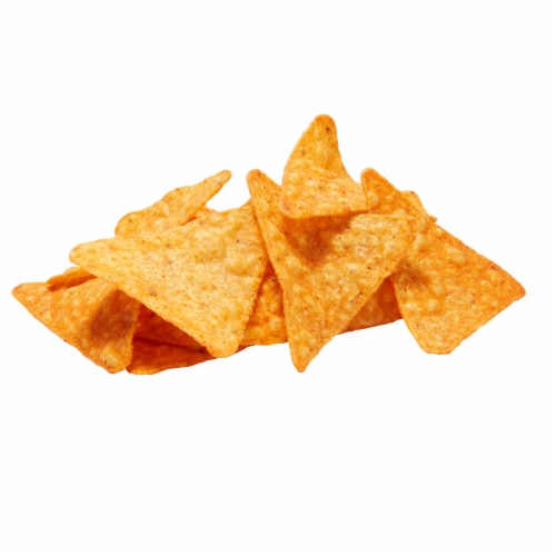 Doritos Nacho Cheese Flavored Tortilla Chips Perspective: top