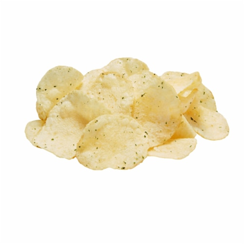 Lay's Potato Chips Sour Cream & Onion Flavor Snacks Perspective: top