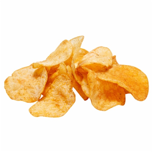 Lay's® Potato Chips Flamin' Hot Dill Pickle Flavored Potato Chips Perspective: top