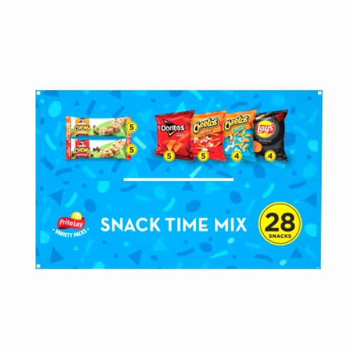 Frito-Lay Snack Time Mix Variety Pack Perspective: top