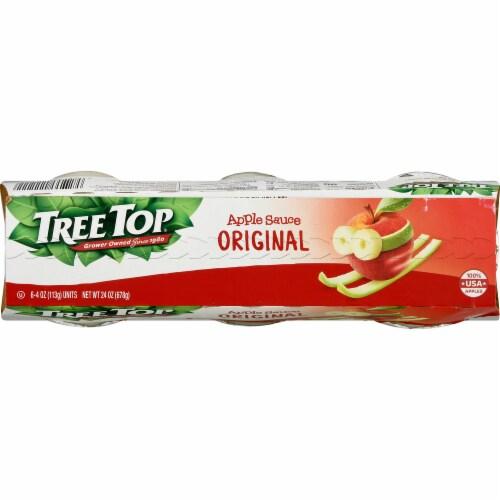 Tree Top Original Apple Sauce Perspective: top