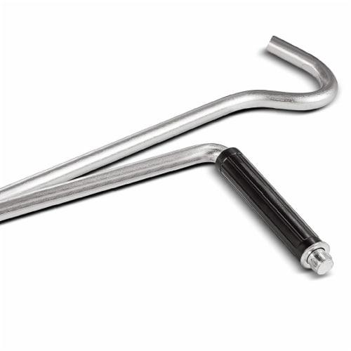 Powerbuilt® 3000 Pound Scissor Jack for Tire Change Perspective: top