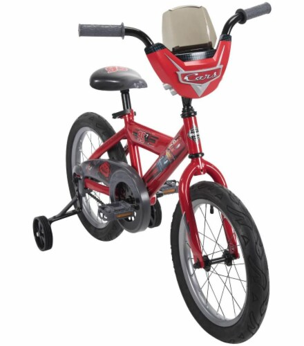 Huffy Disney/Pixar Boys' Cars Bicycle - Flame Red Perspective: top