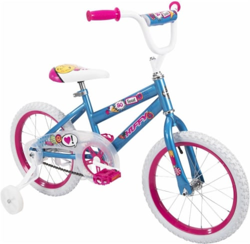 Huffy So Sweet Girls' Bicycle - Ultra Blue Perspective: top