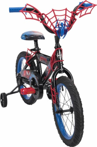 Huffy Marvel Spider-Man Boys' Bicycle - Black Perspective: top