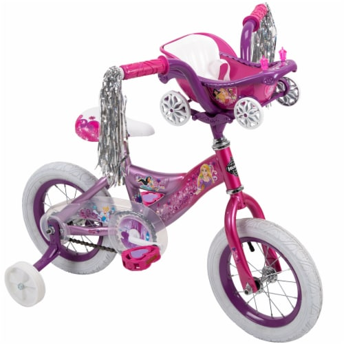 Huffy Disney Princess Girls' Bicycle - Iris/Pink Perspective: top