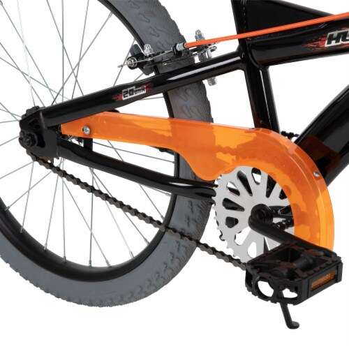 Huffy Spectre Bicycle - Orange/Black Perspective: top