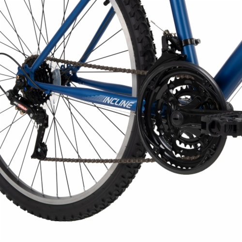 Huffy Mens' Incline Bicycle - Blue Perspective: top