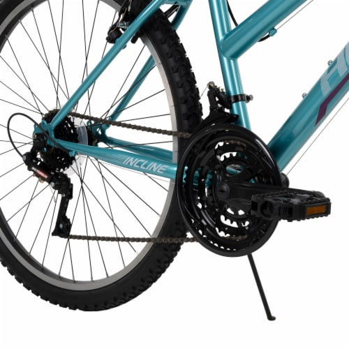 Huffy Ladies' Incline Bicycle - Blue Perspective: top