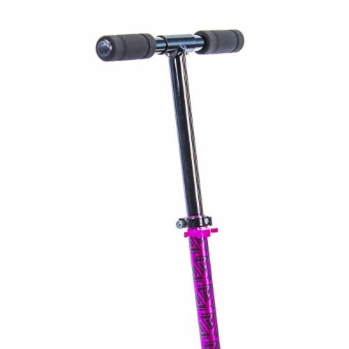 Huffy Prizm G In-line Scooter - Metaloid Pink Perspective: top