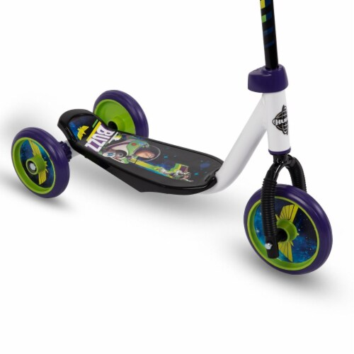 Huffy Disney Pixar Toy Story 3-Wheel Scooter Perspective: top