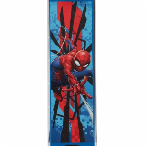 Huffy Spider-Man Inline Scooter - Red/Blue Perspective: top