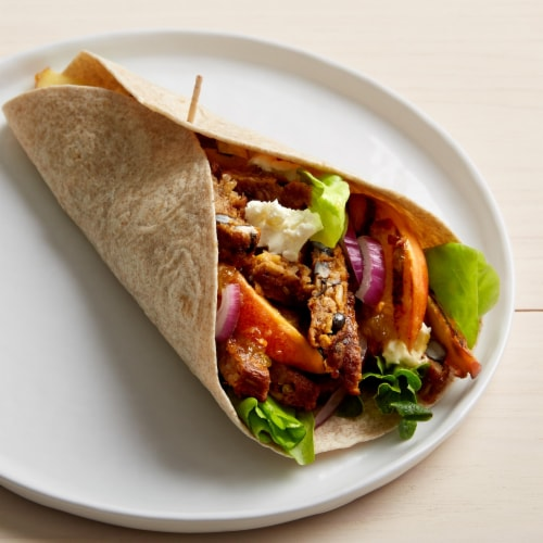 MorningStar Farms 9g Protein Spicy Black Bean Veggie Burgers Perspective: top