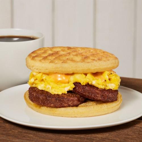 MorningStar Farms Frozen Veggie Breakfast Sausage Patties Original Perspective: top