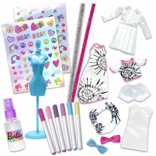 Mattel Barbie™ Be A Real Fashion Designer Tie Dye Kit Perspective: top