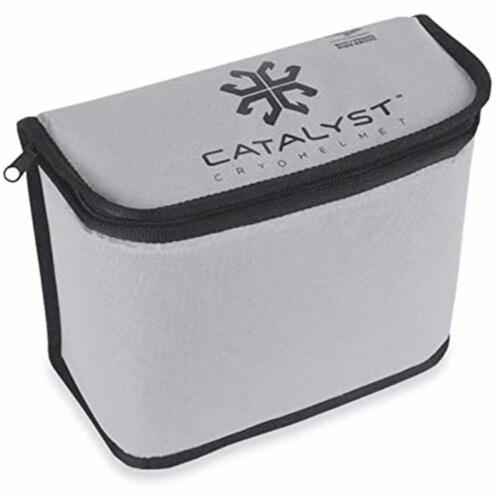 All Star Sports Catalyst Cryohelmet V2 Migraine Relief Cap, Medium/Large, Black Perspective: top