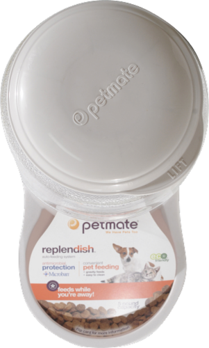 Petmate Replendish Feeder Perspective: top