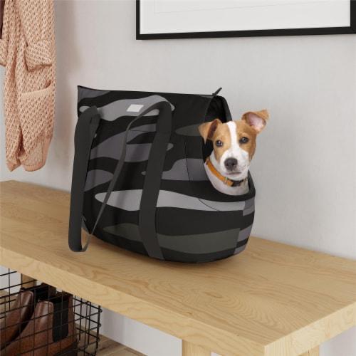 Ollie & Hutch Kaya Pet Carrier Bag, Camo Perspective: top