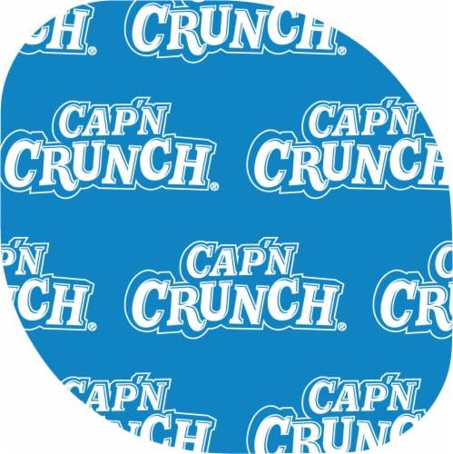 Cap'N Crunch Breakfast Cereal Crunchberries Flavor Corn & Oat Cereal Cup Perspective: top