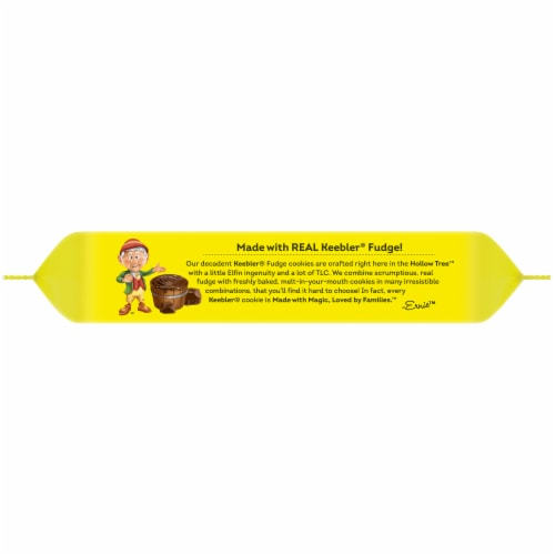 Keebler® Fudge Stripes™ Original Cookies Perspective: top