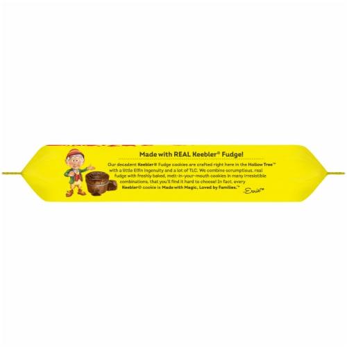 Keebler® Original Fudge Stripes™ Cookies Family Size Perspective: top