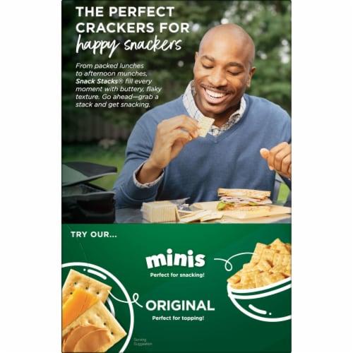 Club Crackers Original Snack Stacks Perspective: top