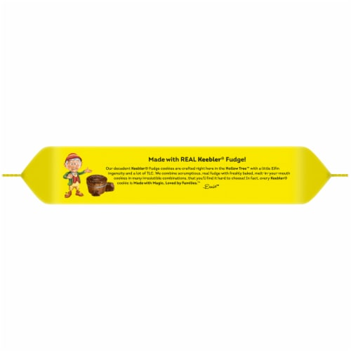 Keebler® Whoopsy! Fudge Stripes™ Fully Fudged Cookies Perspective: top