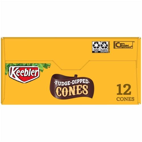 Keebler Fudge Dipped Cones 12 Count Perspective: top